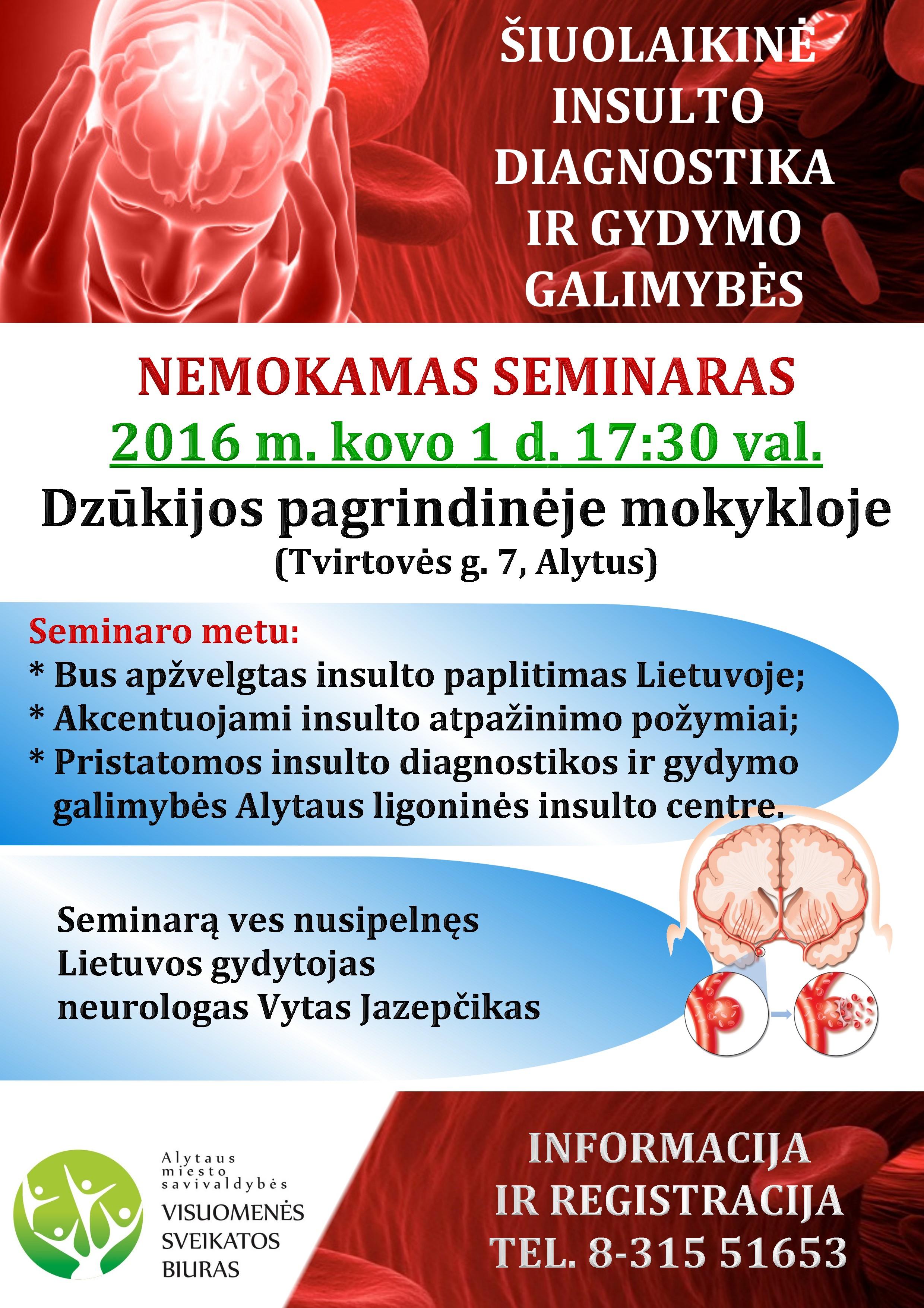 hipertenzija insulto priežastis)